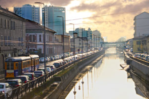Navigli Milano Italo Treno